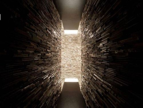room made of books
