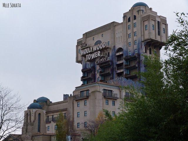 La tour de la terreur à Disney Studio.