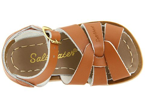 Salt Water Sandal by Hoy Shoes Salt-Water - The Original Sandal (Infant/Toddler) White - Zappos.com Free Shipping BOTH Ways