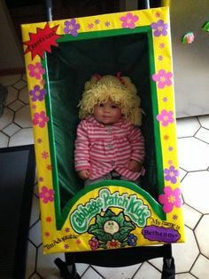 i wish i was a keener cabbage patch halloween costume - Cabbage Patch Halloween Costume For Baby