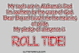 Alabama Football Graphics - Free Alabama Football Pictures & Images