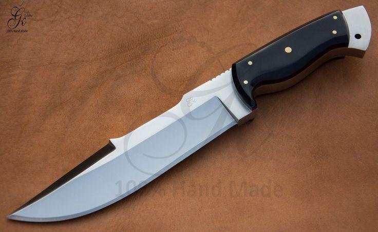 Изготовленные на заказ ручной работы один из вида фиксированным лезвием охотничий нож инструмент D2 сталь (ГК-022) в предметы коллекционирования, ножи, мечи и ножи, коллекционные ножи с фиксированным лезвием, современный фиксированным лезвием, изготовленный на заказ & ручной работы | ибее