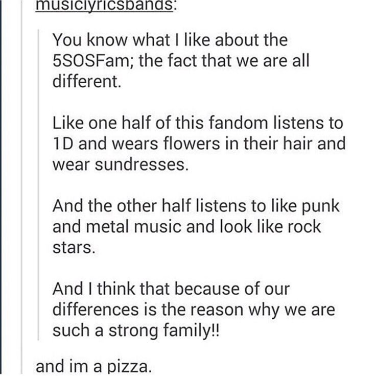 I'm in the punk half