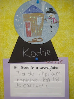 The Snow Globe Family (book, writing map and project).