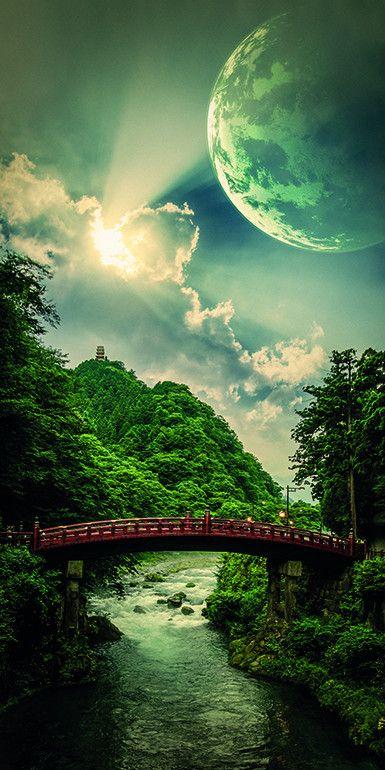 Nikko, Bridge to Heaven - Nathan Spotts (Print)