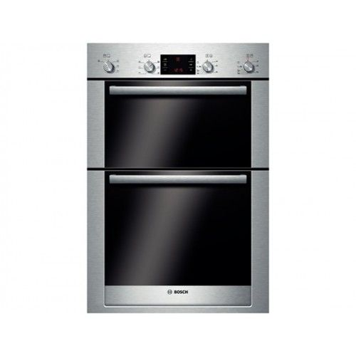 buy bosch exxcel builtin double electric oven brushed steel from our built in ovens range at john lewis