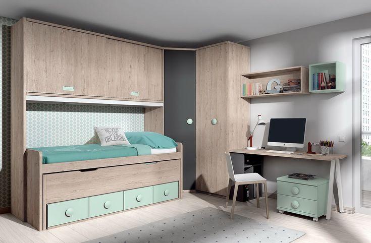 Cat logo de habitaciones infantiles y juveniles de muebles for Muebles infantiles y juveniles en mendoza