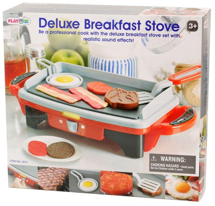 Игровая кухонная плита «делюкс» с аксессуарами playgo