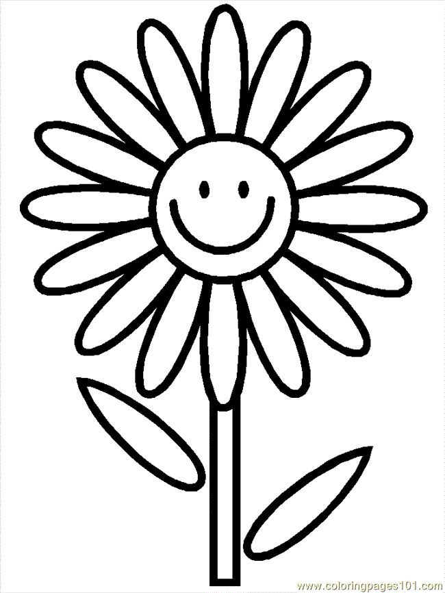 86 best coloring pages images on pinterest - Sunflower Coloring Pages Print