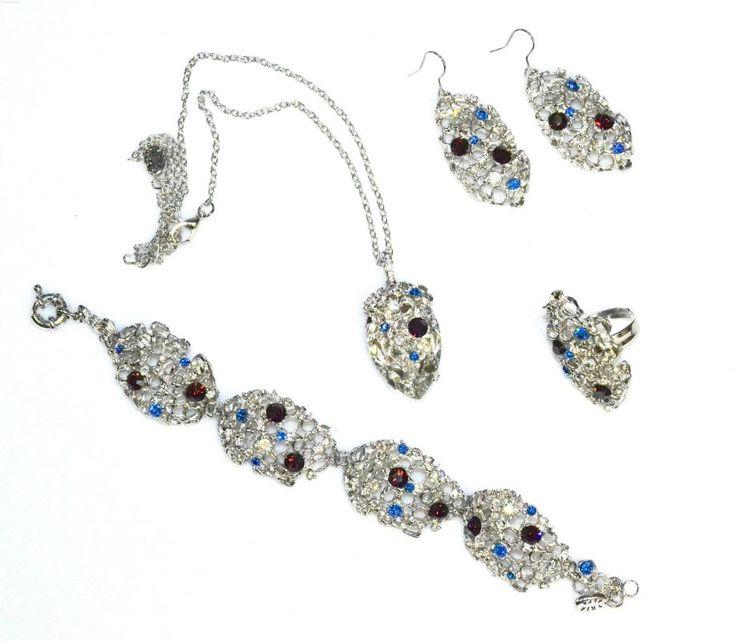 Tria Alfa jewelry sets with Swarovski elements 5