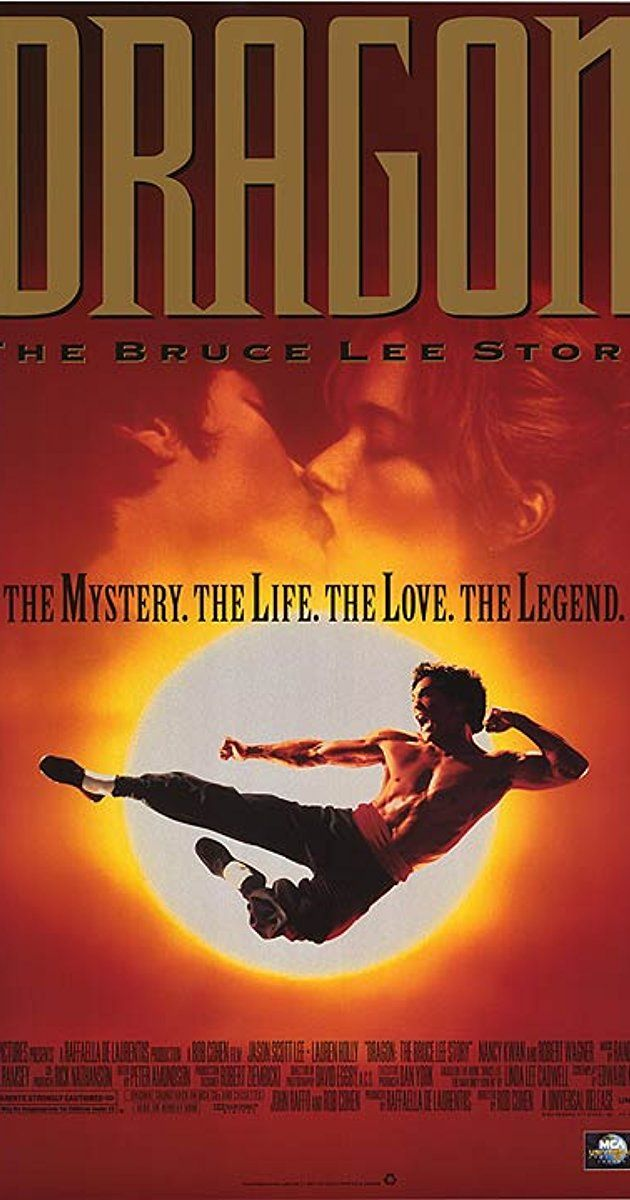 Directed by Rob Cohen.  With Jason Scott Lee, Lauren Holly, Robert Wagner, Michael Learned. A fictionalized account of the life of the martial arts superstar.