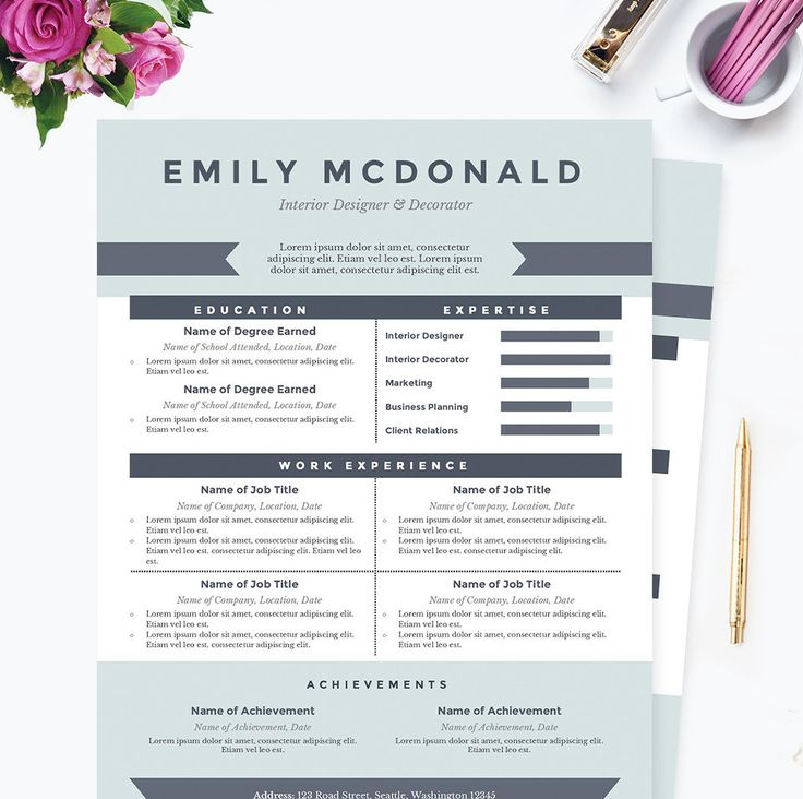 Frame 2 in 1 Word resume template by@Graphicsauthor Resume CV - morgue assistant sample resume