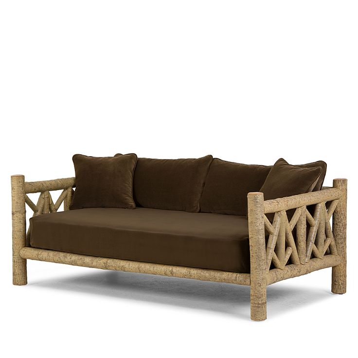 Rustic Daybed #4640 in Desert finish by La Lune Collection