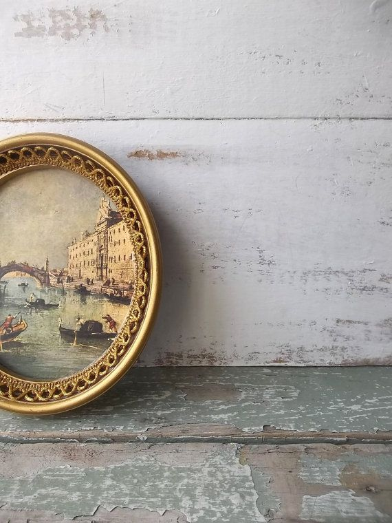 Romantic French Chic Cottage  Petite Framed Art. by 3vintagehearts on Etsy.