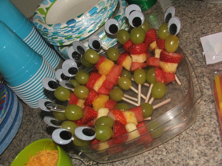 handmade by heather: Aiden's First Birthday..MONSTER PARTY!