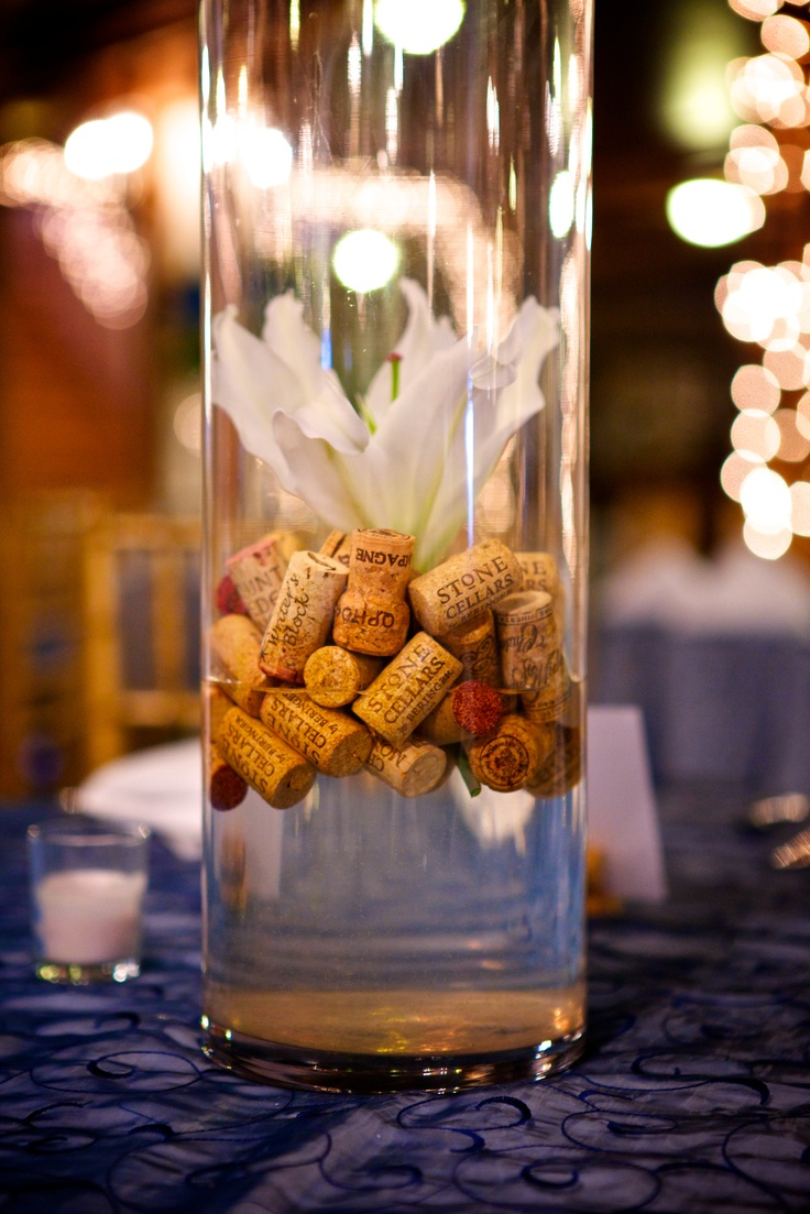 26 best images about wine centerpieces on pinterest for Wine centerpiece ideas