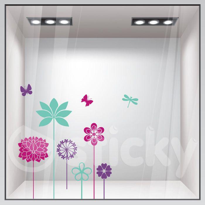 Window Sticker SPRING by Sticky!!!