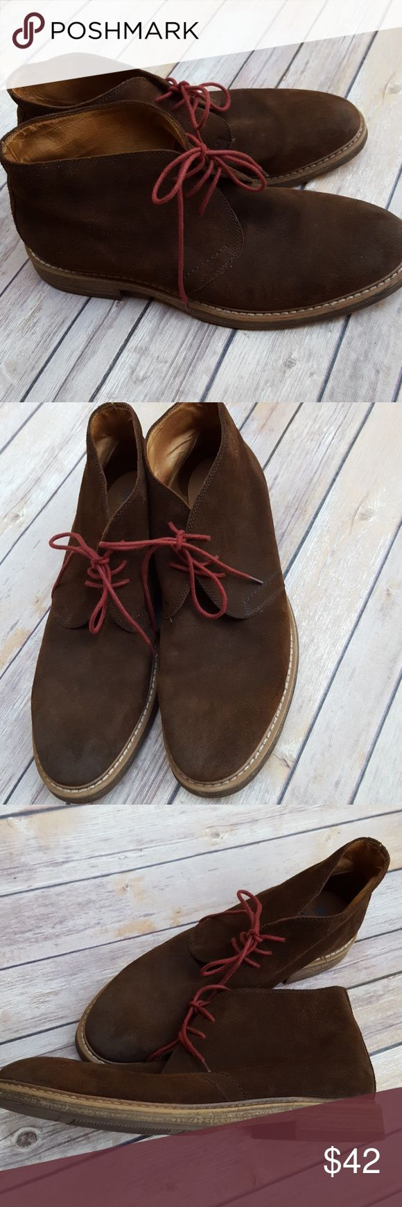 Men's 1901 Brown Suede Boots sz 13 Men's 1901 Brown Suede Boots sz 13. Leather Upper, gently used. 1901 Shoes Chukka Boots