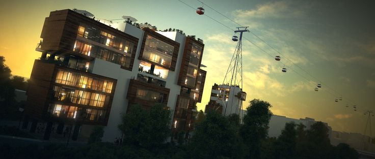 Mamaia Apartment Building, Romania by Novelty AE. More on www.nvty.ro