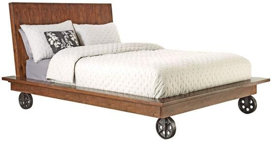 bed on casters