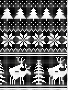 small fairisle patterns - Google Search