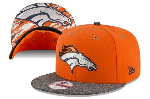 NFL Denver #Broncos 2016 NFL #Draft On Stage #Snapback Hats 6 Hole Metal