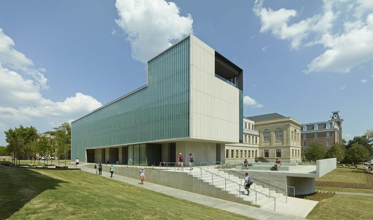 Vol Walker Hall & the Steven L Anderson Design Center / Marlon Blackwell Architect