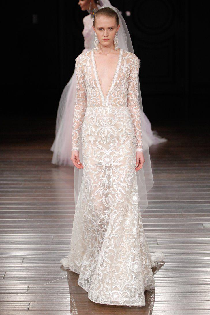 Pin for Later: Les 100 Plus Belles Robes de la Bridal fashion Week Printemps/Été 2017 Naeem Khan Printemps/Été 2017
