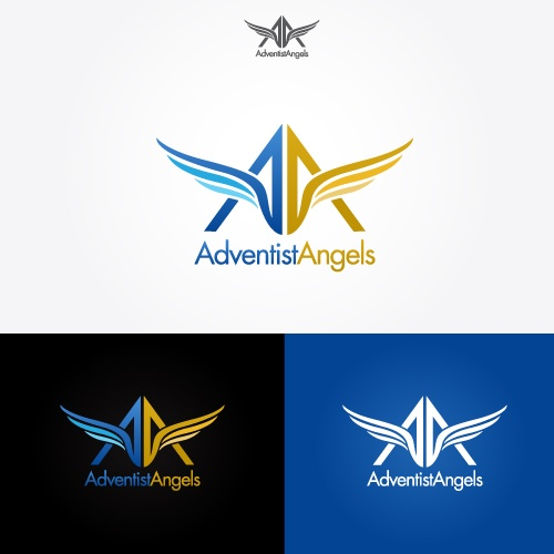 194 best featured logo designs images on pinterest Angel logo design