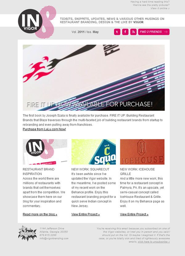44 best electronic direct mail examples images on for Newsletter design inspiration