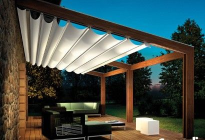 Terrace open roof; Zonwering Avalon Eindhoven