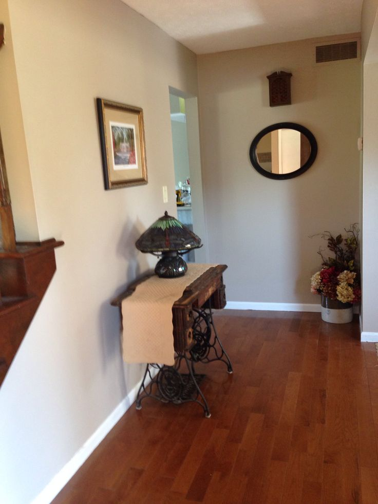 My Entry Way Pavilion Beige By Sherwin Williams House