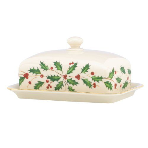 Lenox Holiday Covered ButterIvory >>> You can get additional details at the image link.(This is an Amazon affiliate link and I receive a commission for the sales)