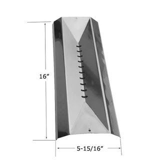 Grillpartszone- Grill Parts Store Canada - Get BBQ Parts,Grill Parts Canada: Cuisinart Heat Shield | Replacement Stainless Stee...