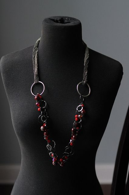 Very Berry with Attention Earrings and Manhattan by TheBlingTeam, via Flickr