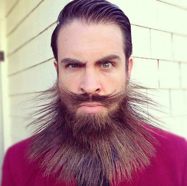 Beard Design Ideas this style is called stairway to heaven beards now in 3d Daily Wtf 10 Mr Crazy Beard Styles