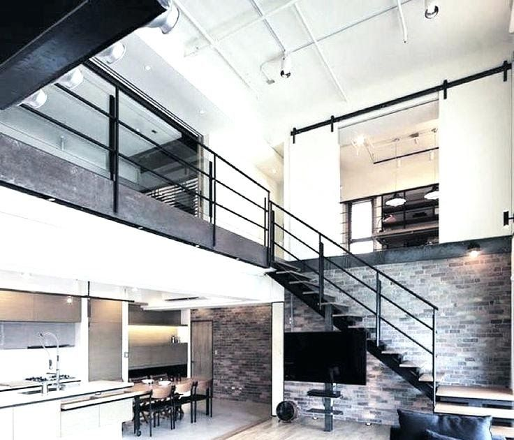 Industrial Loft House Plans Thereismore Me Loft Style Home Remarkable Modern Industrial Concrete Walls South Side Slo In 2020 Loft Style Homes Loft Style Modern Loft