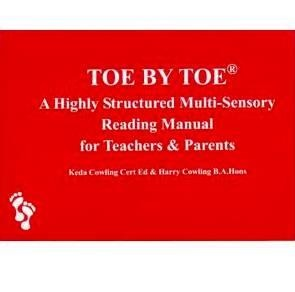 Toe by Toe is very easy to use though it is not the syllable division generally used for the teaching of reading. Once the sound of a phoneme has been taught using the 'polynons' (nonsense words), these rules can then be applied to any multi-syllabic word and students find a whole new world of reading opening before their eyes.