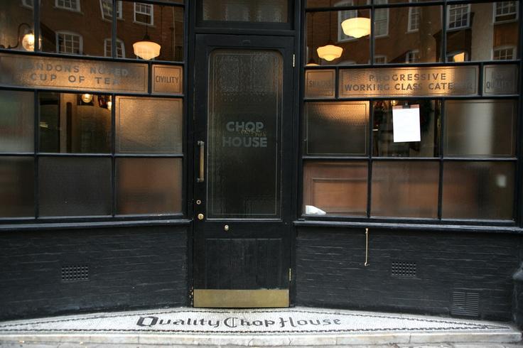 Quality Chop House - Farringdon Road.