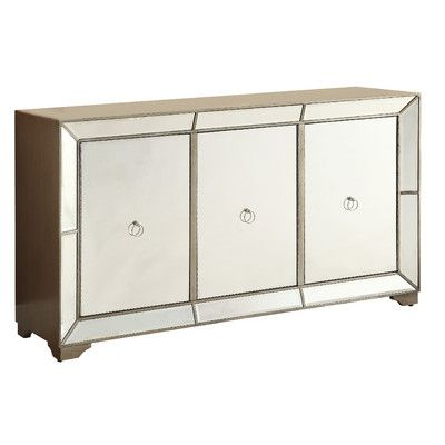 Lena Mirrored Console Table & Reviews | Joss & Main