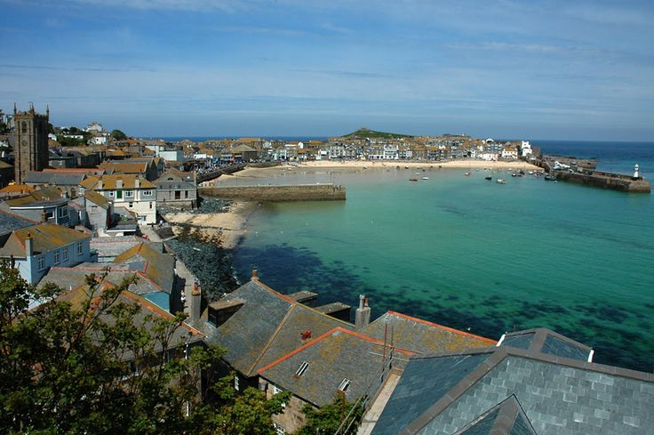 Harbour view of St Ives
