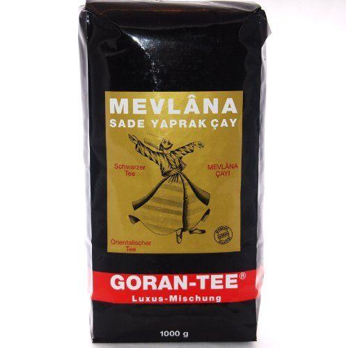 Mevlana Goran Tee - Schwarzer loser Ceylon Tee in luxus Mischung (1000g)