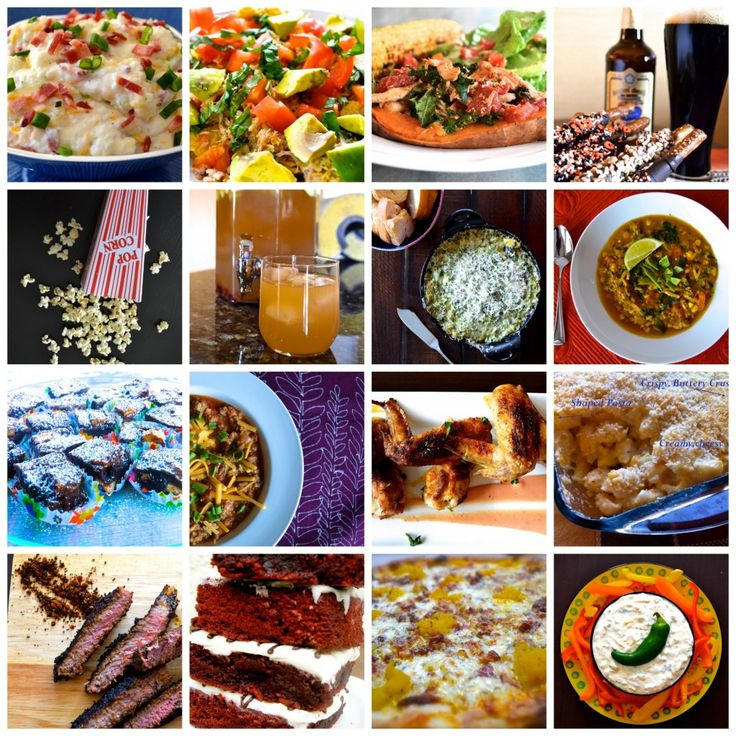 45 healthy recipes for this year's Super Bowl! Football food made easy so you can enjoy the big game.