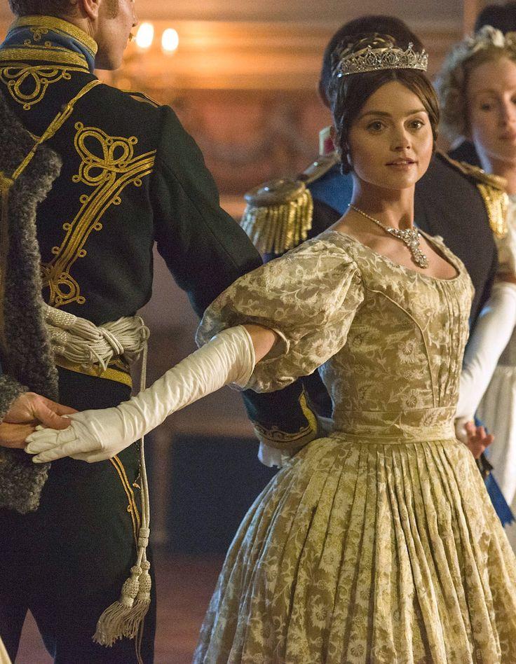 Jenna Coleman as Queen Victoria in Victoria - 2016                                                                                                                                                                                 More