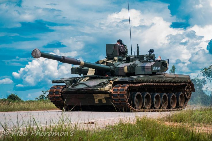Ukrainian Oplot MBT in Royal Thai Army