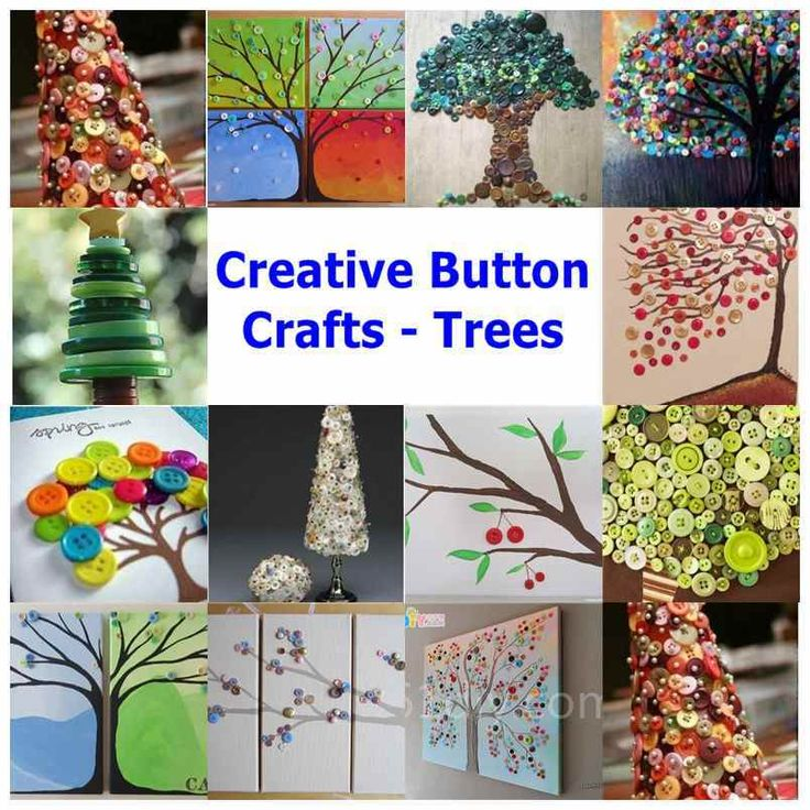 I love buttons ever since I was a little girl. They are so cute and come in different colors and sizes. With buttons, you can make a lot of creative crafts and here are a few examples. I never knew that buttons can be used to create these beautiful tree …