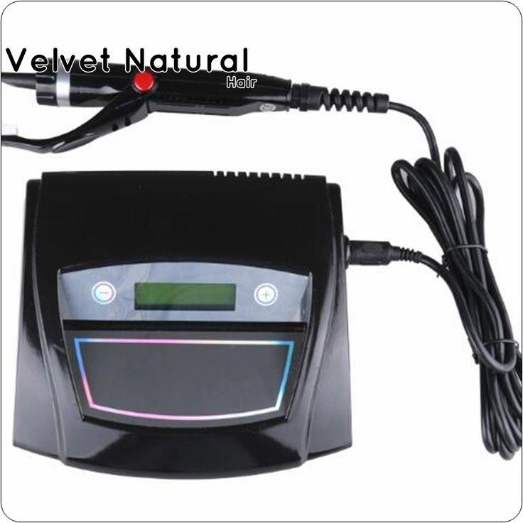 200.53$  Buy here - http://aliz2y.worldwells.pw/go.php?t=32767142223 - Black Digital Ultrasonic Hair Extensions Fusion Machine/ Connector Ultrasonic Hair connector fusion Ultrasonic iron hair tools 200.53$