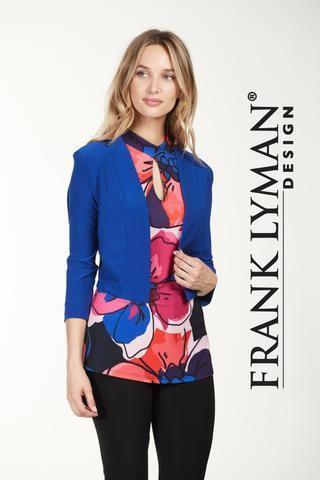 Practical shawl collar bolero jacket. Proudly Made in Canada