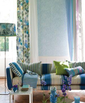 137 best images about artist tricia guild textile designer on pinterest furniture fabric. Black Bedroom Furniture Sets. Home Design Ideas