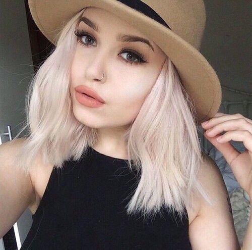 Hipster makeup